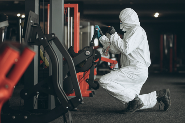 professional disinfection services for gyms